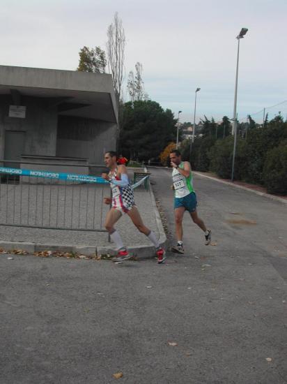 La tete de la Course : Maximilien , Stéphane