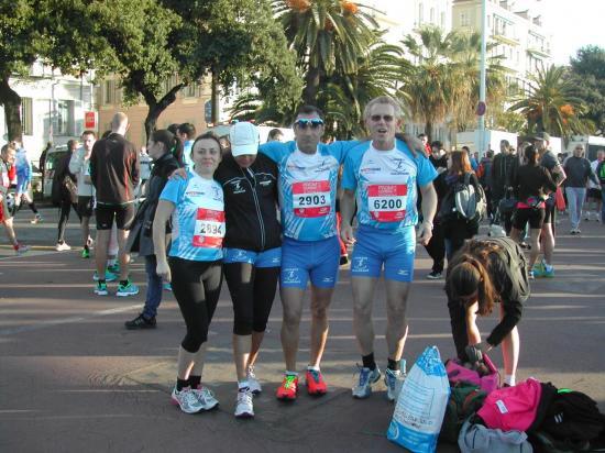 Celine, Marion, Antoine, Alain
