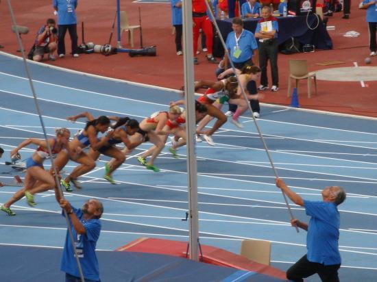 le 100m Christine Aron