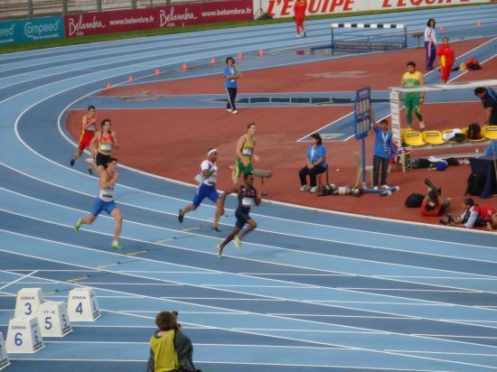 l' arrivée du 1500 m