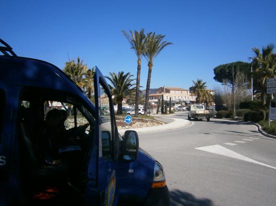 Sortie de Port Grimaud