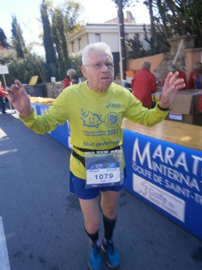 Jean  80ans 309 marathons !