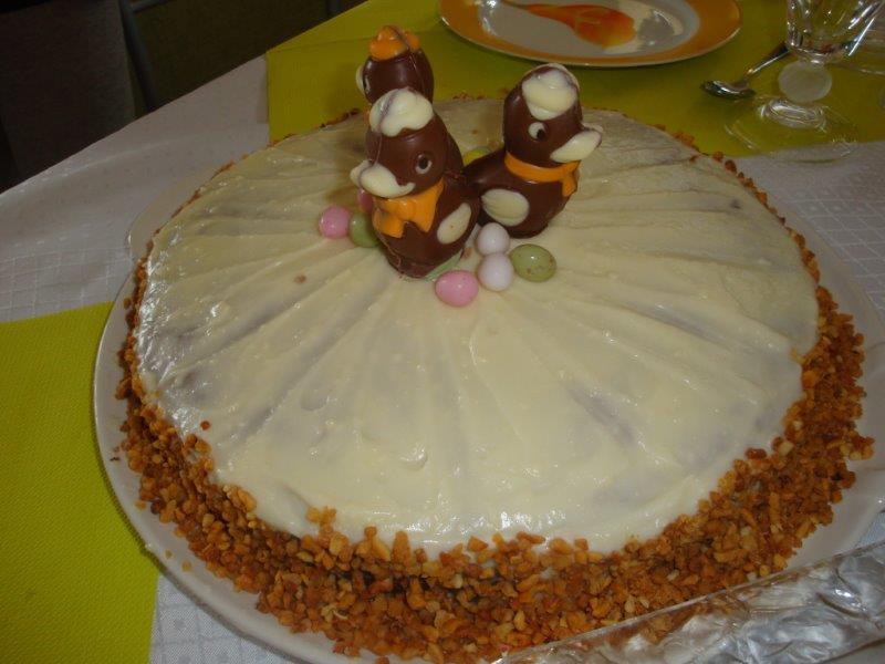 Les recettes de fabi - Recette carrot cake americain ...