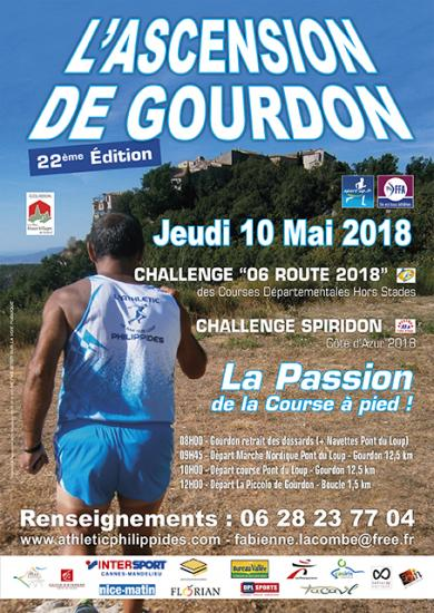 Athletic philippides affiche a3 gourdon